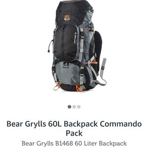 Bear Grylls Commando 60l Backpack, New, Never Been Used for Sale in Aurora, OR