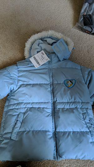 Gender neutral puffer jacket size 110 4t for Sale in Seattle, WA
