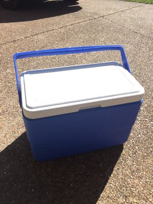Perfect size blue cooler for Sale in Nashville, TN