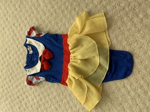 Snow White costume for 6 months baby for Sale in Irvine, CA
