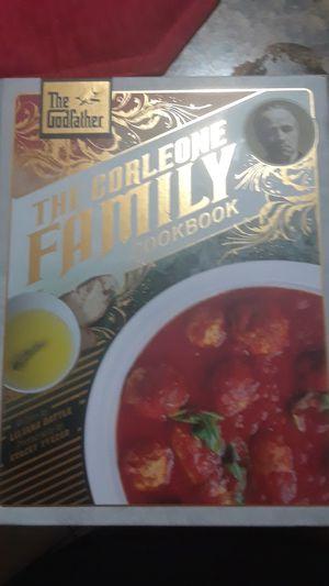 The corleone gamily cookbook for Sale in Tampa, FL