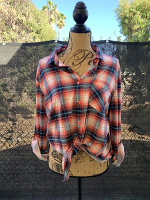 Woman flannel for Sale in Cudahy, CA
