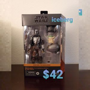 Brand New Star Wars Black Series 2-Pack - The Mandalorian (Din Djarin & The Child) for Sale in Buena Park, CA