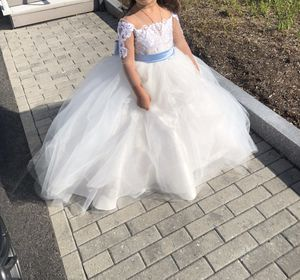 Flower Girl Dress (Ivory) for Sale in Boston, MA