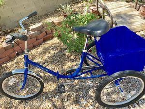 Worksman Folding Tricycle for Sale in Las Vegas, NV