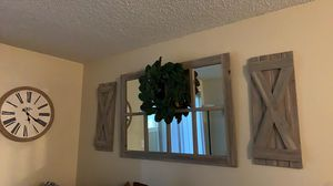 Farm house mirror for Sale in Fresno, CA