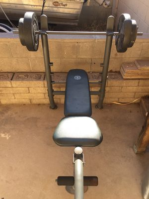 Gold Gym's Bench press for Sale in Phoenix, AZ