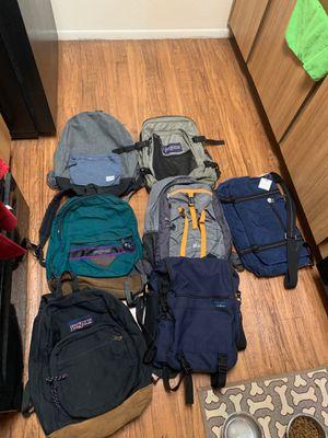 Backpacks messengers for sale Jansport, REI, LL Bean, Herschel for Sale in Phoenix, AZ