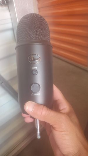 """BLUE"" Professional Recording Microphone for Sale in Salt Lake City, UT"