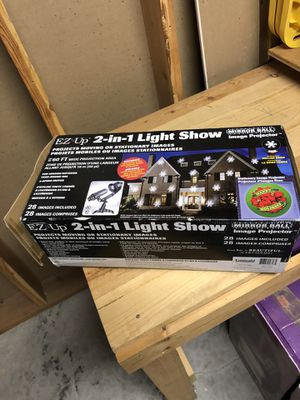Halloween & holiday house spot light show great for haunted house for Sale in North Bend, WA