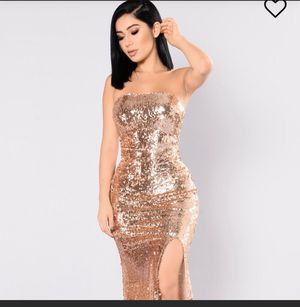 Brand new rose gold dress for Sale in Riverside, CA