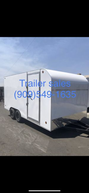 8.5x20x7 enclosed trailer **IN STOCK**$5995 for Sale in Monterey Park, CA