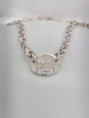 Tiffany & Co. Oval Tag Necklace for Sale in Dallas, TX