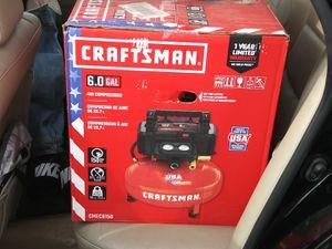 Craftsmen 6.0 Air Compressor for Sale in Monterey Park, CA