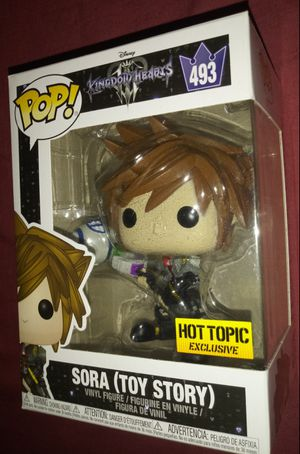 """Kingdom Hearts 3 """"Sora (Toy Story)"""" Hot Topic Exclusive Funko Pop for Sale in Los Angeles, CA"""