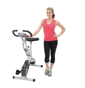 Exerpeutic magnetic upright exercise bike with heart pulse sensors for Sale in Austin, TX