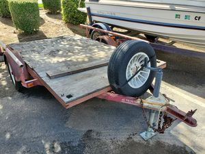Small flatbed dovetail trailer for Sale in Riverside, CA