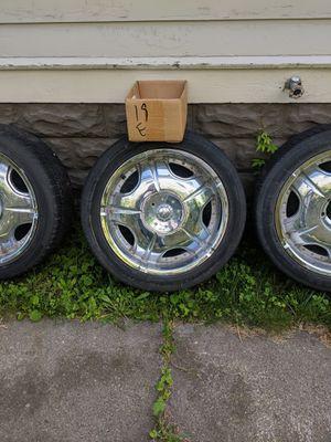 "20"" 6 lug rims for sale best offer?? for Sale in Kingston, NY"