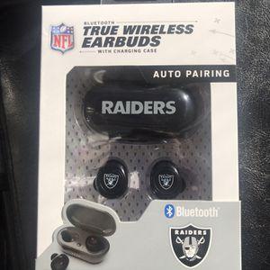 Raiders Wireless Earbuds for Sale in Las Vegas, NV