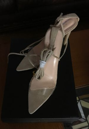 Lulus size 7 lace up shoes brand new never worn for Sale in VLG OF LAKEWD, IL