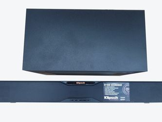 Klipsch R-10B Bluetooth Soundbar With Wireless Subwoofer (Satin Black) G for Sale in La Puente,  CA