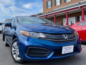 2014 Honda Civic Coupe for Sale in Fredericksburg, VA