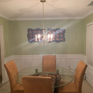 Dining Room Set with Wall Art for Sale in College Park, GA