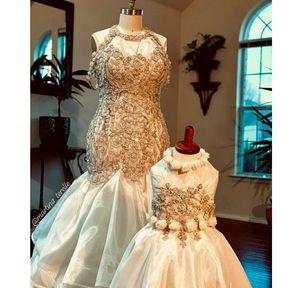 Custom made wedding gown/wedding dress or vow renewal gown, matching flower girl gown for Sale in Fort Lauderdale, FL