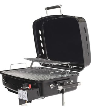 Flame King RV Or Trailer Mounted BBQ Motorhome Gas Grill 214sq Inch Cooking Surf for Sale in Las Vegas, NV