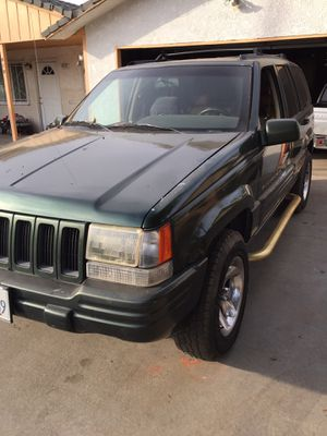 1996 jeep grand cherokee limited for Sale in Sanger, CA