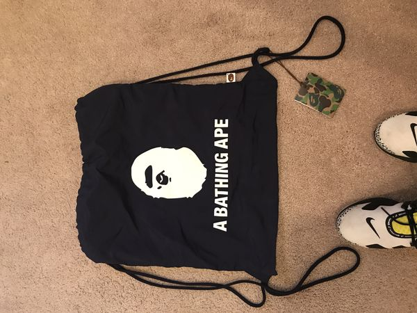 Bape string bag