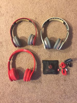 Beats by Dre headphones -$20 each pair for Sale in Milwaukee, WI