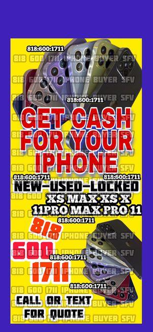 iPhone 11 12 pro max iCloud unlocked locked xs max xr xs x open box phone iPad WiFi cellular Apple Watch 6 se MacBook Pro 2020 Apple TV for Sale in Los Angeles, CA