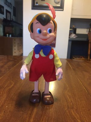 Vintage Pinocchio Doll - 1960's for Sale in Washington, IL