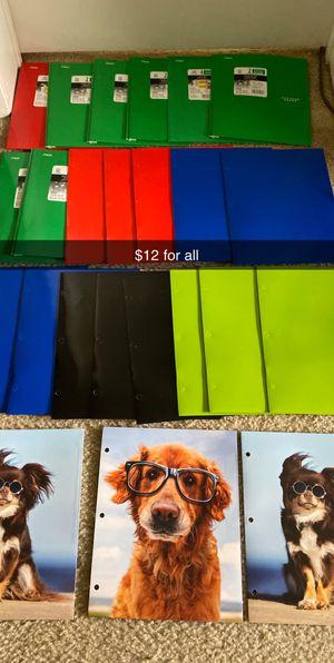 25 2 pocket folders for Sale in Boca Raton, FL