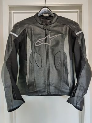 Alpinestars Faster Airflow leather motorcycle jacket size medium for Sale in Garden Grove, CA
