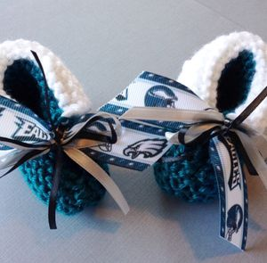 Philadelphia EAGLES Baby Booties for Sale in Seattle, WA