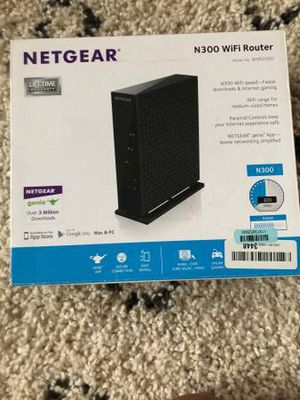 Netgear N300 Wi Fi Router for Sale in Chicago, IL