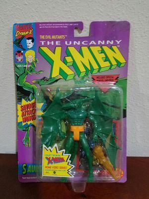 Sauron The Uncanny X-Men Marvel Comics ToyBiz RARE VINTAGE COLLECTABLE Action Figure for Sale in Thonotosassa, FL