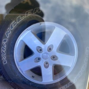Used Rims And Tires Jeep Jk for Sale in San Diego, CA