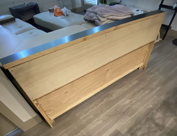 bed frame head board