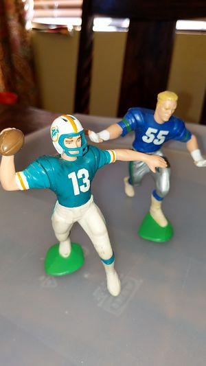 Football Action Figures Dan Marino & Brian Bosworth for Sale in San Diego, CA