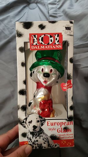 Disney Christmas glass Ornament for Sale in Manteca, CA