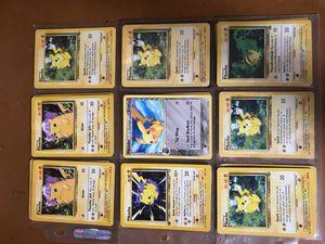 Basic Pokemon Pikachu's for Sale in Gainesville, VA