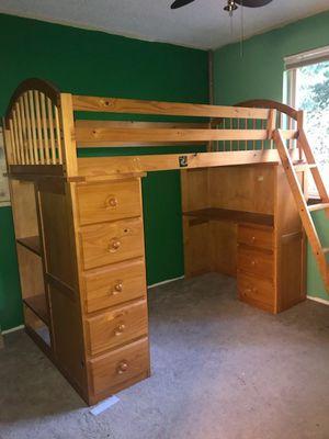 Nice wood bunk bed for Sale in Edmonds, WA