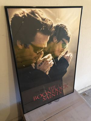 The Boondock Saints Movie Poster for Sale in Dallas, TX
