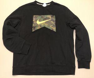 Nike Crew Neck Sweatshirt Woodland Camo Graphic Shirt for Sale in Portland, OR