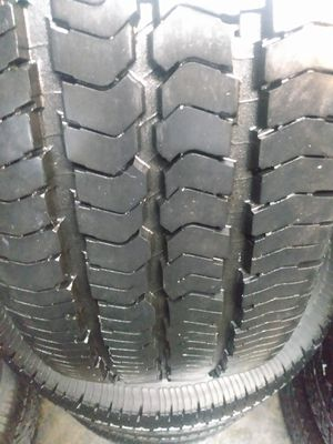 SET TIRES GOOD YEAR WRANGLER 245/75R16$300 CASH ESPECIAL PRICE for Sale in Cypress, CA