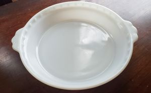 Vintage Milkglass Pyrex Pie Plate for Sale in Pattersonville, NY