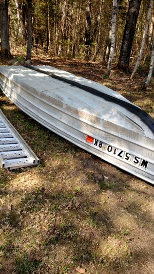 16ft aluminum fishing boat for Sale in Three Lakes, WI
